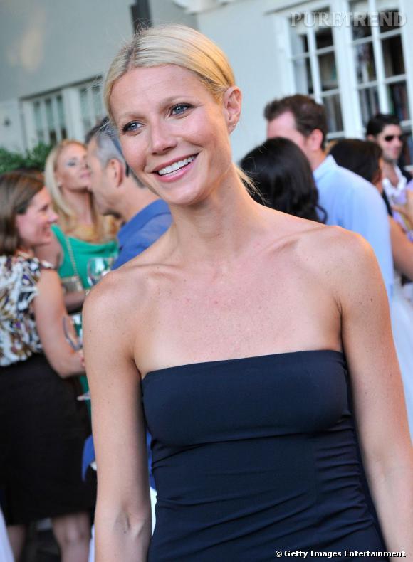 Gwyneth Paltrow au dîner Baby Buggy Summer à Hampton. Une association qui vient en aide aux familles new-yorkaises les plus démunies.