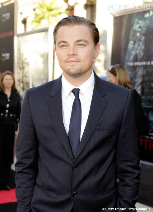 1er du classement : Leonardo DiCaprio et son regard azur, toujours impec' dans son costume noir.