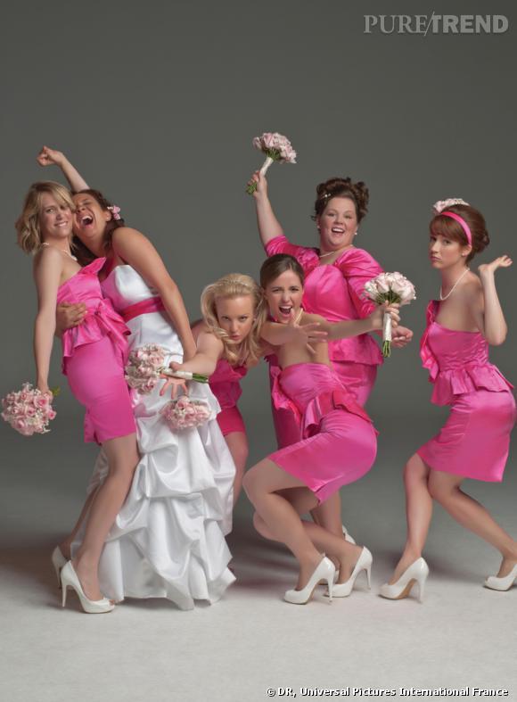 Mes meilleures Amies de Paul Feig avec Kristen Wiig, Rose Byrne, Maya Rudolph.