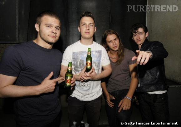 Le groupe de rock anglais Arctic... Monkeys !