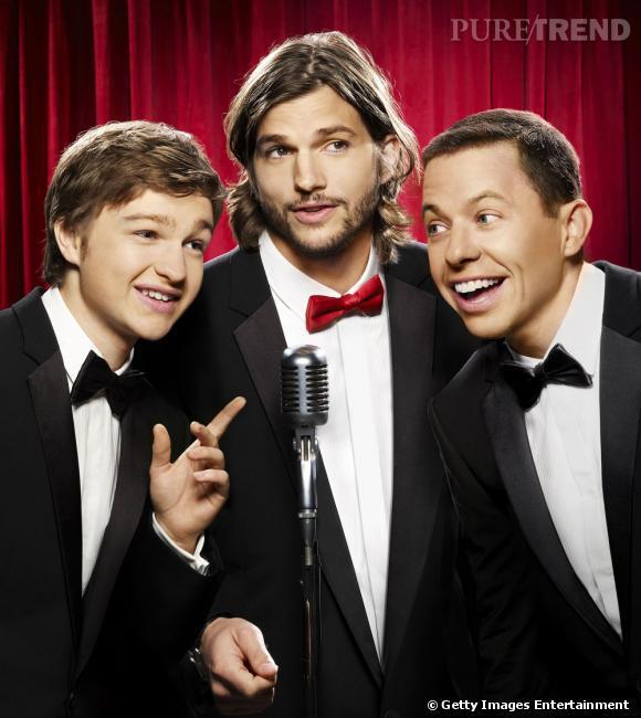 """Avec son rôle dans la série """"Mon Oncle Charlie"""", Ashton Kutcher devient l'acteur le mieux payé de la télévision."""