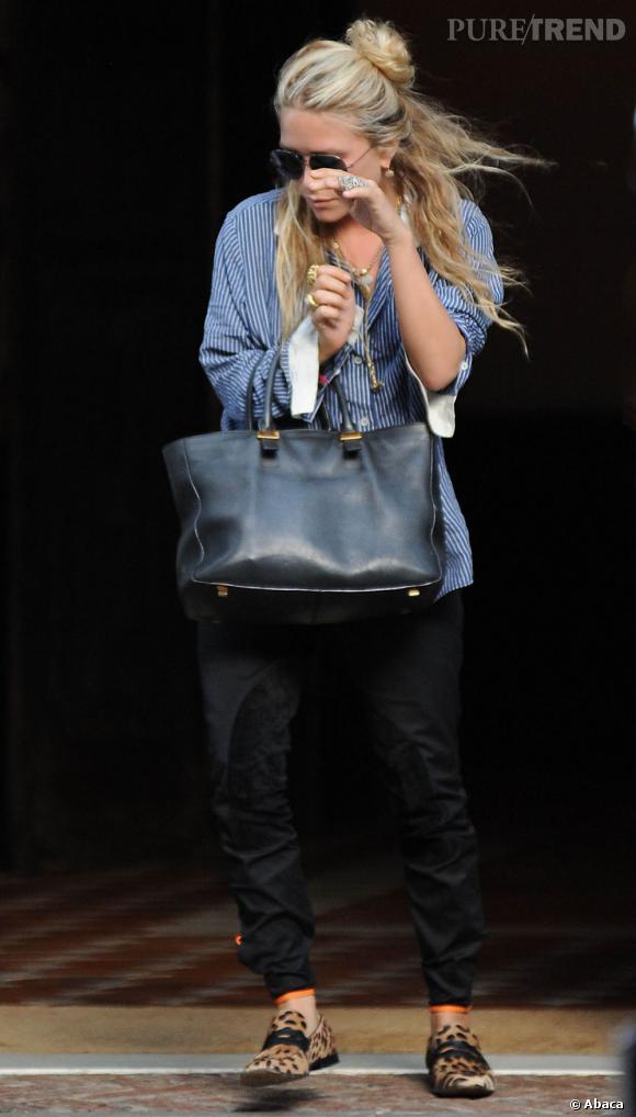 Ashley Olsen tente une échappée dans les rues de New York.