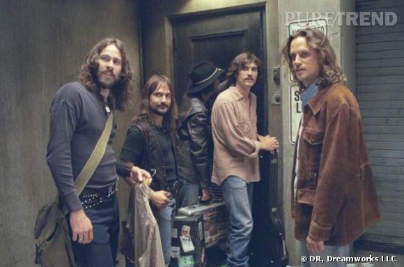 "Les rockers du film ""Presque Célèbre""."