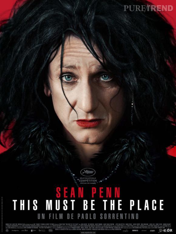 """Sean Penn à la mode The Cure dans """"This Must Be The Place""""."""