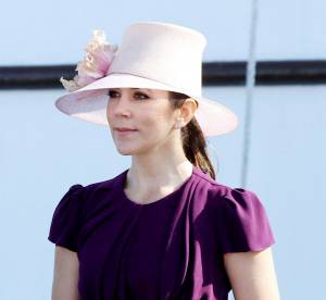 La princesse Mary du Danemark, chic et coloree