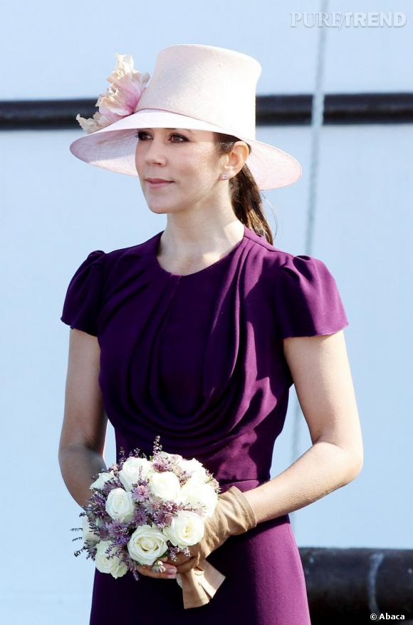 La princesse Mary du Danemark en visite à Skagen.