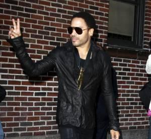 Lenny Kravitz, come back en noir