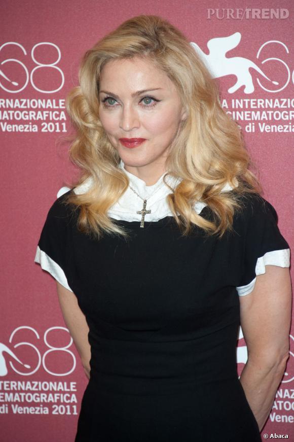 Madonna au Festival du Film de Venise.