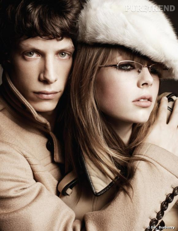 Campagne Burberry Nude, Automne-Hiver 2011/2012.