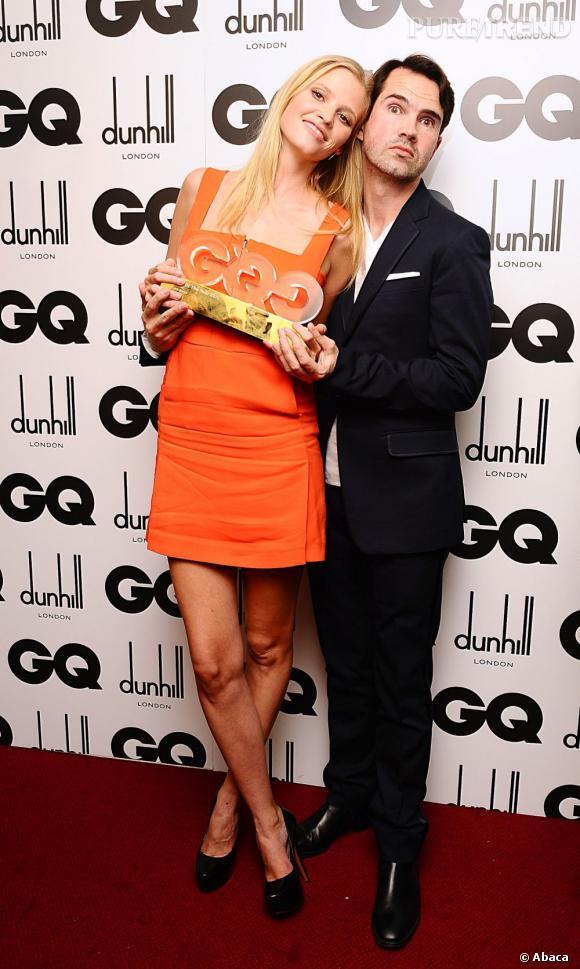 Lara Stone a gagné le prix de la femme de l'année.
