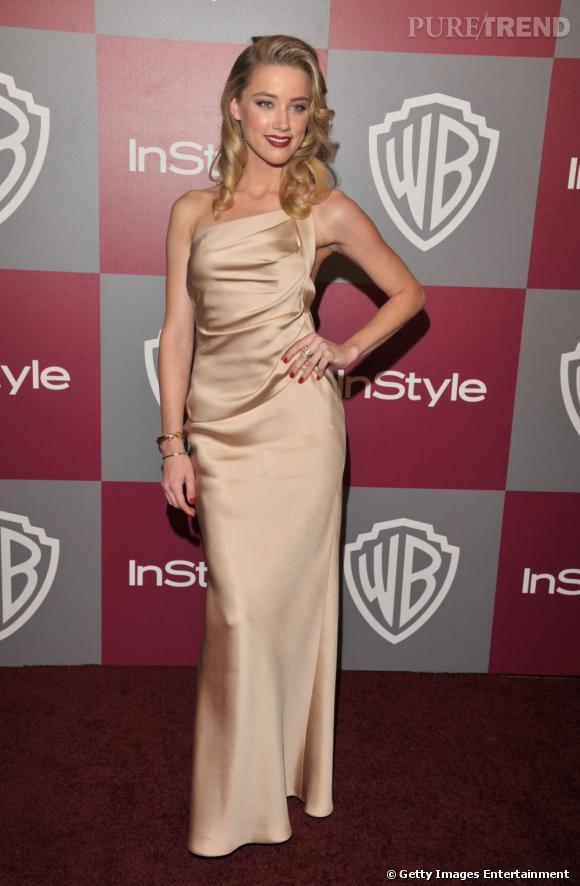 Vamp moderne, Amber Heard est la nouvelle sensation hollywoodienne.