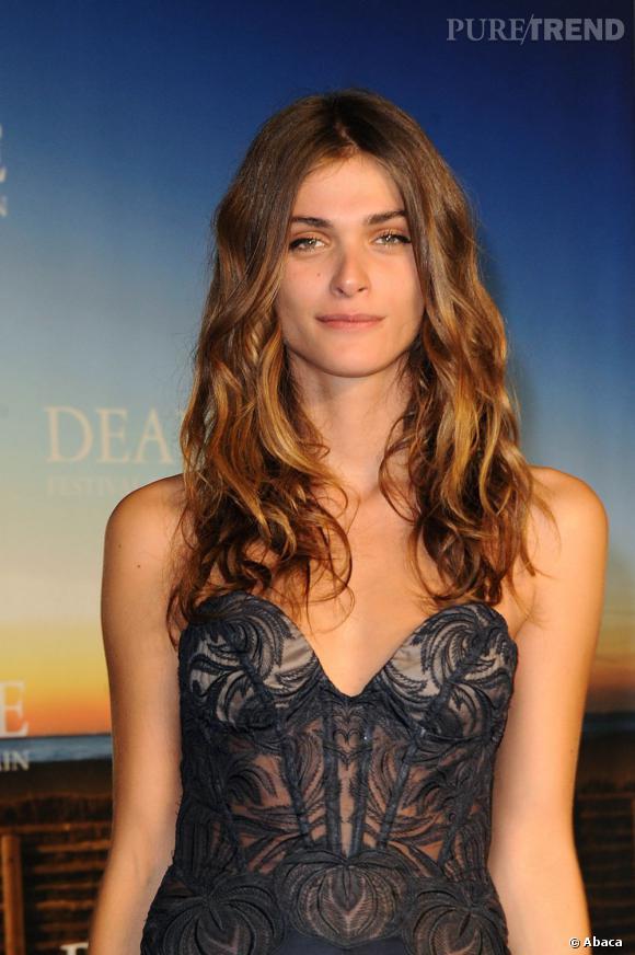 Elisa Sednaoui à la cérémonie de clôture du Festival du Cinéma Américain de Deauville.