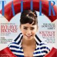 Lily s'offre la couverture du magazine  Tatler  avec des airs d'Audrey Hepburn.
