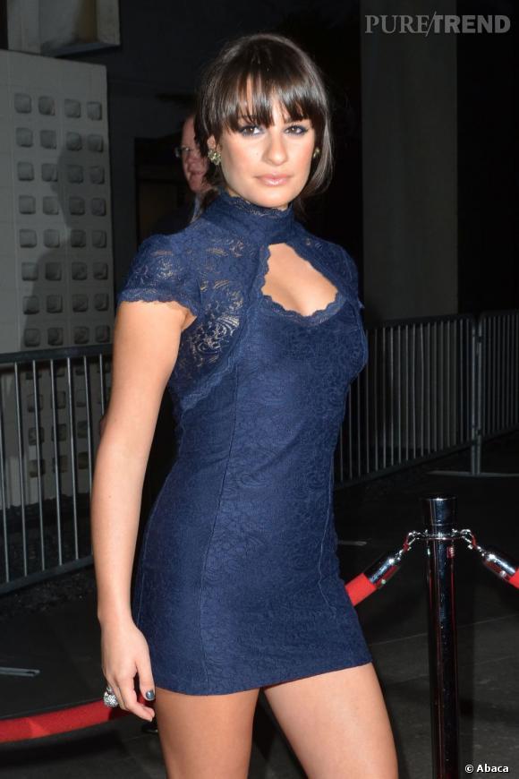 """Lea Michele à la première de la série """"American Horror Story"""" à Los Angeles."""