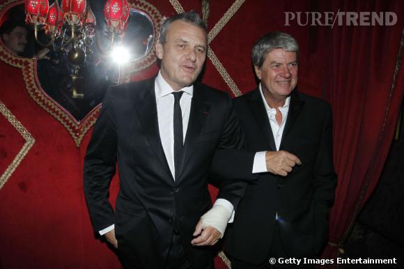 Jean Charles de Castelbajac et Yves Carcelle.