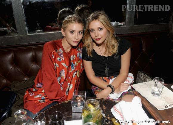 Ashley Olsen parfaitement colorée ne semble pas décidée à se laisser faire de l'ombre.