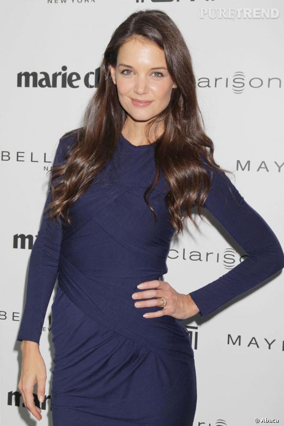 Katie Holmes à la soirée Women Top Awards organisée par Marie Claire à New York.