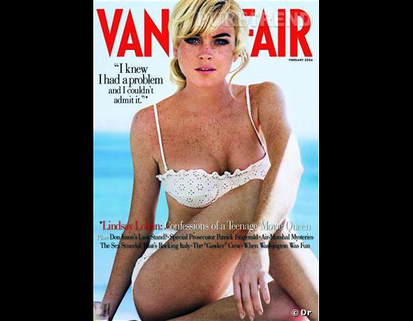 Lindsay Lohan pour Vanity Fair mise sur le naturel, assume ses taches de rousseur et porte un joli maillot... On parie qu'il n'en sera pas de même pour sa prochaine cover.