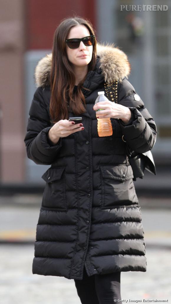 Liv Tyler dans West Village à New York.