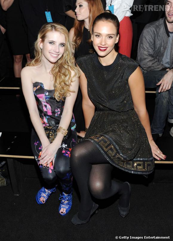 Emma Roberts et Jessica Alba