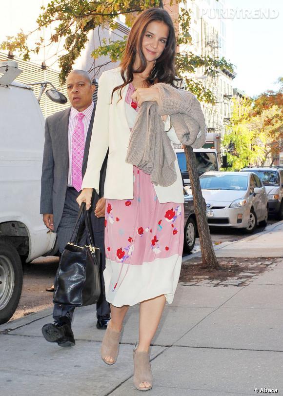 Katie Holmes dans les rues de New York.
