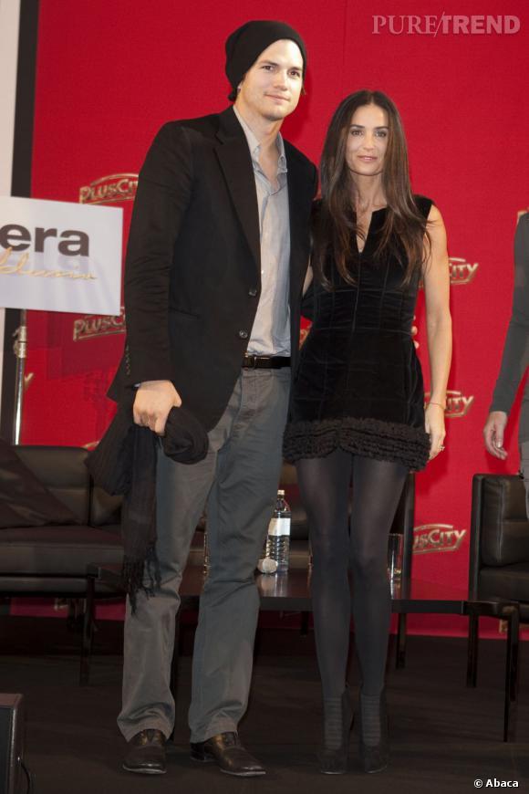 Demi Moore s'était physiquement transformée pour être à la hauteur de la jeunesse de son jeune époux.