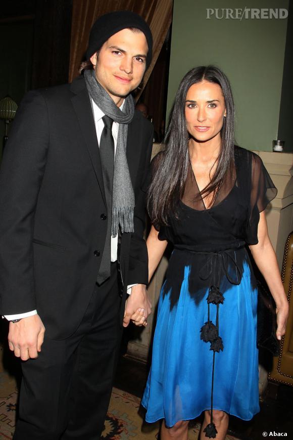 Demi et Ashton, c'est fini, ils s'étaient mariés en 2005.
