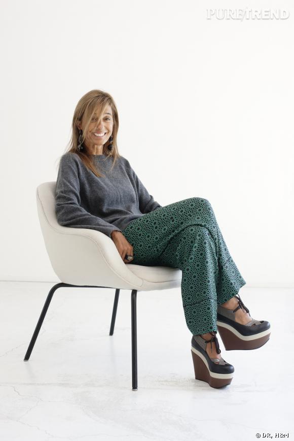 Consuelo Castiglioni, directrice de la création chez Marni, nouvelle invitée d'H&M.