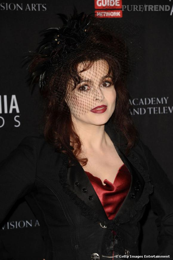 Helena Bonham Carter : son look aux BAFTA Awards à Beverly Hills.