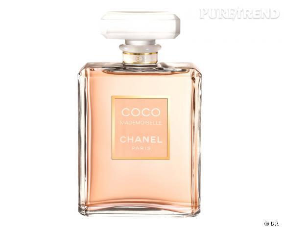 Eau de parfum Coco Mademoiselle, Chanel, à partir de 49,60 €.