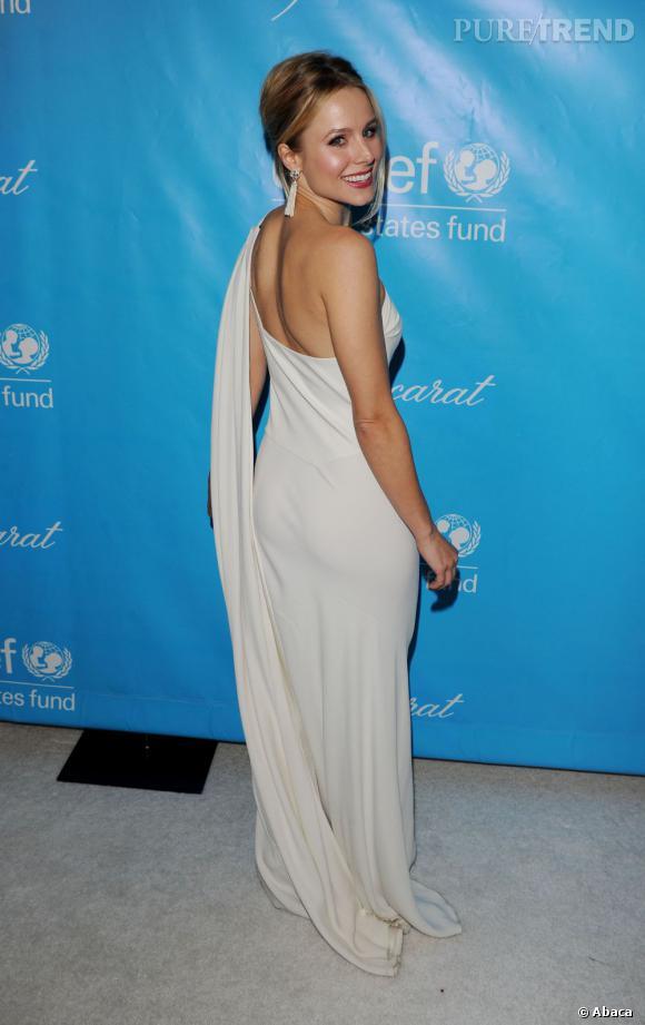 Kristen Bell au bal de charité organisé par l'UNICEF à Los Angeles.