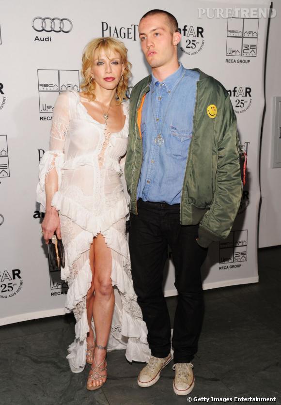 Courtney Love et Jack Donoghue.