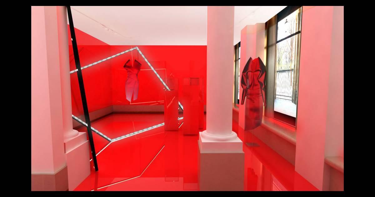 le cr ateur alexandre vauthier expose en ce moment paris dans une boutique ph m re quelques. Black Bedroom Furniture Sets. Home Design Ideas