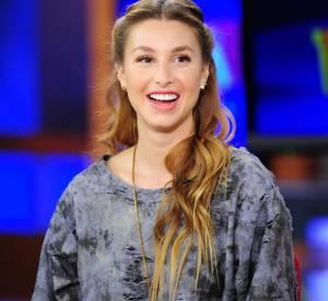 Whitney Port invitée sur les plateaux de la Fox à Los Angeles.