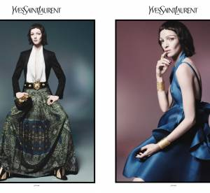 Mariacarla Boscono, madone d'Yves Saint Laurent