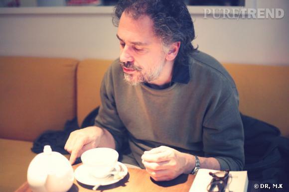 Entretien avec Simon Liberati chez Claus