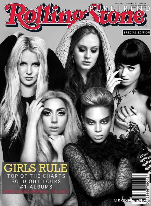 Une couverture 100% girl power réunissant les chanteuses les plus vendeuses en 2011.