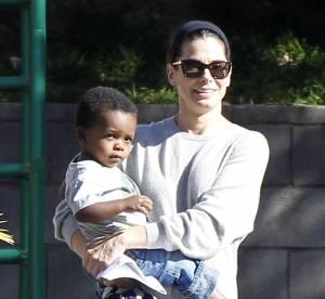 Sandra Bullock, super maman