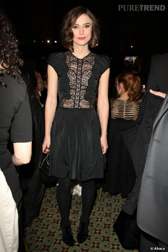 Keira Knightley au National Board of Review Awards Gala à New York.