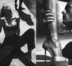 Les campagnes sexy du week-end : Lara Stone pour Calvin Klein