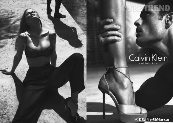 Campagne Calvin Klein Collection, Printemps-Eté 2012.