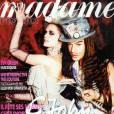 Duo burlesque pour Eva Green et John Galliano pour Madame Figaro.