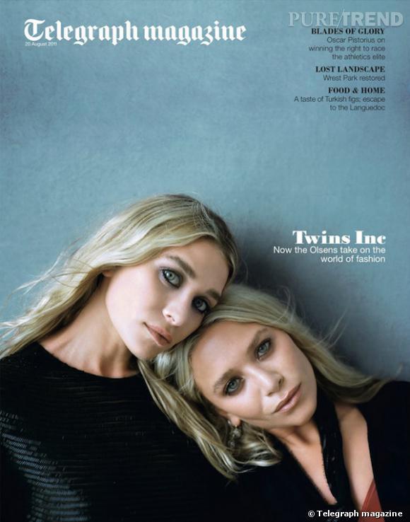 Les jumelles les plus connues au monde font la une du Telegraph Magazine avec douceur et style.