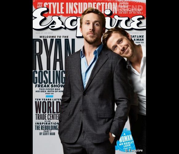On n'est jamais si bien servi que par soi-même. C'est donc avec Ryan Gosling que Ryan Gosling prend la pose pour Esquire.