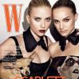 Deux actrices Hollywoodiennes valent mieux qu'une pour W Magazine qui s'offre à la fois Scarlett Johansson et Natalie Portman.