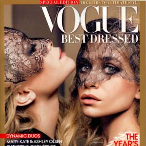 Le duo le plus couture de New York Mary Kate et Ashley Olsen s'offre l'édition spéciale de Vogue.