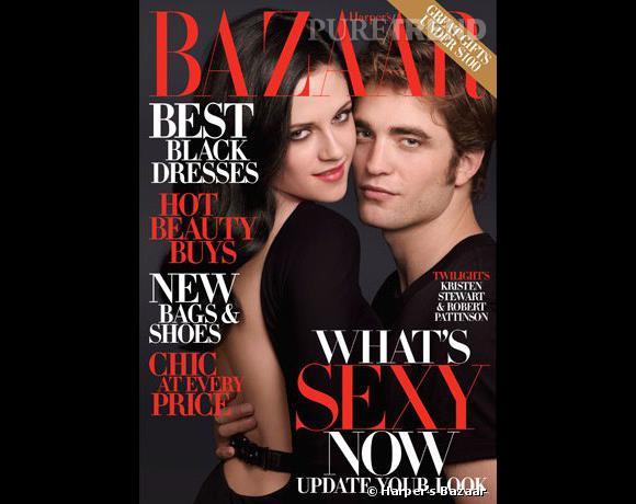 Kristen Stewart et Robert Pattison, partenaires et amants, font un duo bien sexy pour le Harper's Bazaar.
