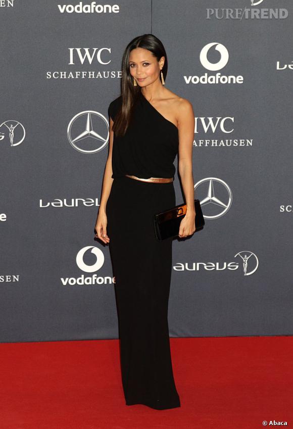 Thandie Newton lors des Laureus World Sports Awards à Londres.