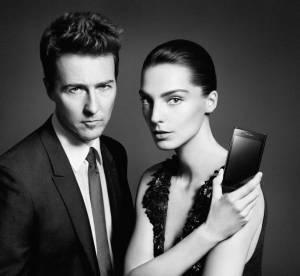 Edward Norton et Daria Werbowy égéries 2.0 de Prada LG