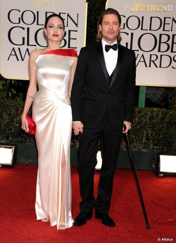 Le couple star Brangelina est depuis 2005 l'un des couples les plus suivis de la planète. Toujours très amoureux sur red carpet, on se demande ce qu'ils nous préparent pour la Saint-Valentin.